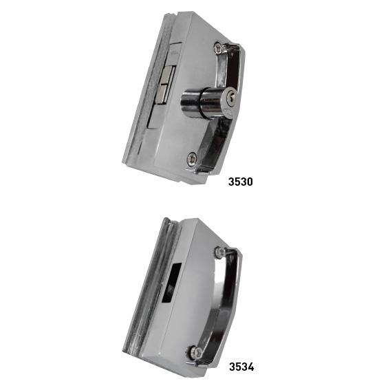 Kit Porta de Correr Vidro – Vidro